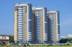 Três construções urbanas Fotografia de Stock