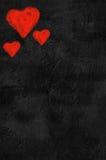 Três corações Fotografia de Stock Royalty Free