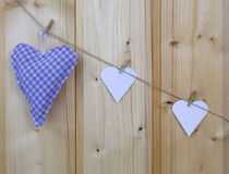 Três corações Imagem de Stock