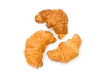 Três croissants Foto de Stock Royalty Free