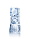 Três cubos de gelo Imagens de Stock