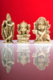 Três deuses indianos Foto de Stock Royalty Free