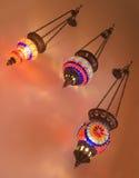 Três dispositivos elétricos em style-2 turco Fotografia de Stock