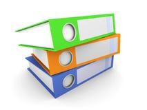 Três dobradores ilustração stock