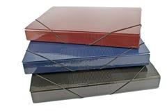 Três dobradores da carteira Imagem de Stock