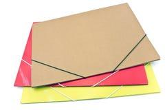 Três dobradores grandes da carteira Imagem de Stock Royalty Free