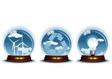 Três esferas ilustração royalty free