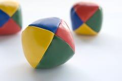 Três esferas de mnanipulação imagem de stock royalty free