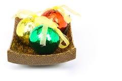 Três esferas do Natal Foto de Stock Royalty Free