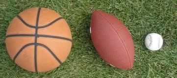 Três esportes Imagens de Stock