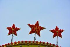 Três estrelas Foto de Stock Royalty Free