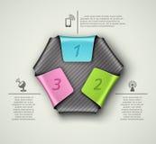 Três etapas Foto de Stock
