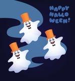 Três fantasmas de dança Foto de Stock Royalty Free