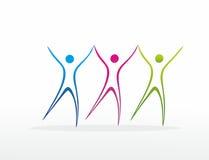 Três figuras abstratas Fotografia de Stock
