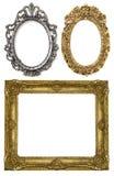 Três frames fotografia de stock royalty free
