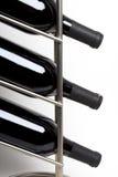 Três frascos do vinho Fotografia de Stock