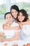 Três gerações imagem de stock
