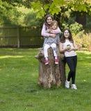 Três irmãs junto Fotografia de Stock Royalty Free