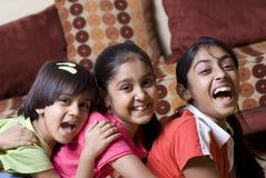 Três irmãs junto Fotos de Stock