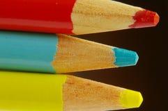 Três lápis Fotografia de Stock Royalty Free