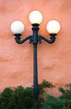 Três luzes do globo Imagens de Stock