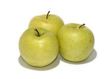 Três maçãs Fotografia de Stock