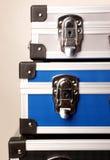 Três malas de viagem Foto de Stock