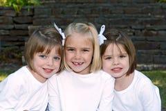 Três meninas Foto de Stock
