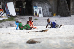 Três meninas africanas Fotos de Stock Royalty Free