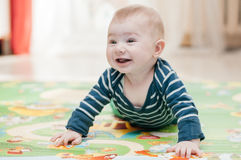 Três-meses da criança Imagem de Stock Royalty Free