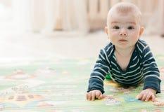 Três-meses da criança Fotografia de Stock Royalty Free