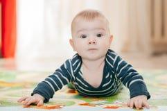 Três-meses da criança Foto de Stock Royalty Free