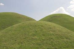 Três montes, Coreia do Sul Foto de Stock Royalty Free