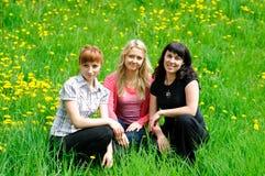 Três mulheres Foto de Stock Royalty Free