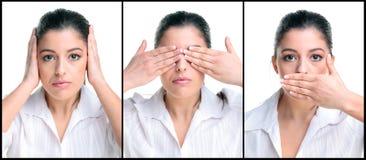 Três mulheres sábias Fotos de Stock