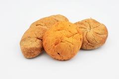 Três nacos do pão Imagem de Stock Royalty Free