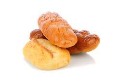 Três nacos do pão Fotografia de Stock Royalty Free