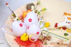 Três ovos de Easter Imagem de Stock Royalty Free