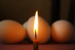Três ovos de Easter Imagens de Stock Royalty Free