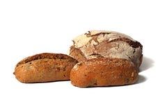 Três pães rustical do estilo country Fotografia de Stock Royalty Free