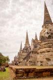 Três pagodes dos pagodes Imagens de Stock