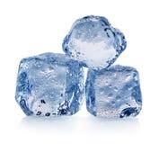 Três partes de gelo foto de stock royalty free