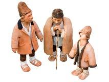 Três pastores Fotografia de Stock