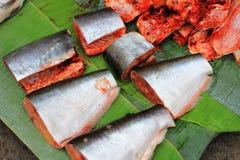 Três peixes frescos imagem de stock royalty free