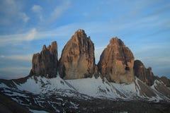 Três picos Foto de Stock