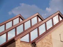 Três picos do telhado Imagem de Stock