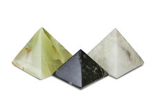 Três pirâmides Fotografia de Stock Royalty Free