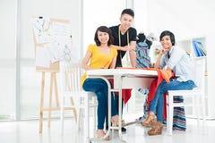 Três povos asiáticos novos Fotografia de Stock Royalty Free