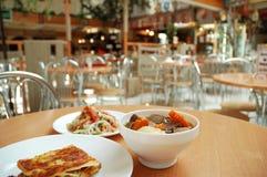 Três pratos Fotos de Stock