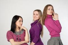 Três raparigas Imagem de Stock